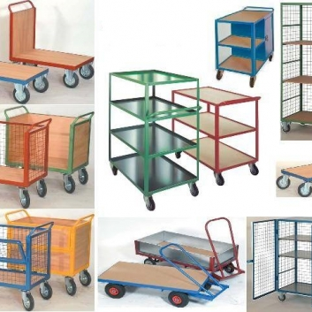Trucks and Trolleys