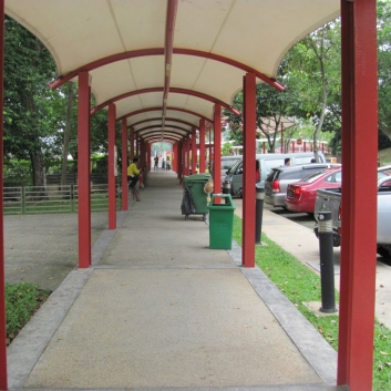 Pedestrian and Covered Walkways