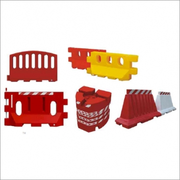 Tough Plastic Safety barriers